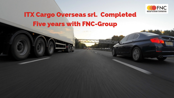 ITX Cargo Overseas srl. working With FNC- Group Since Last Five Years