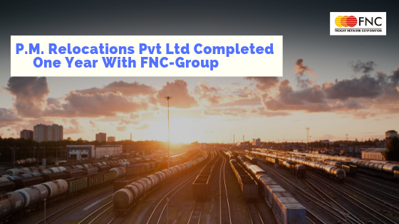 P.M Relocations Pvt ltd Completed One Year with FNC – Group