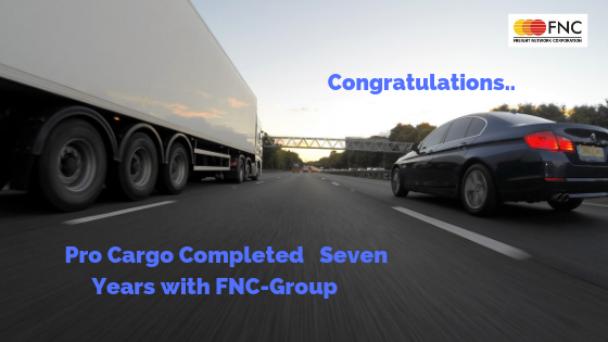 Pro Cargo Completed Seven Years With FNC – Group