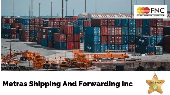 Metras Shipping And Forwarding Inc