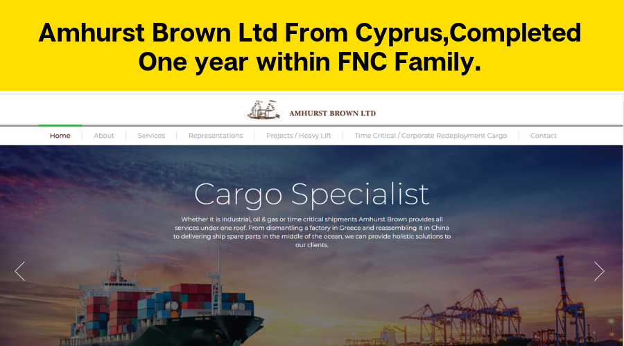 Amhurst Brown Ltd Completed One year within FNC Group.
