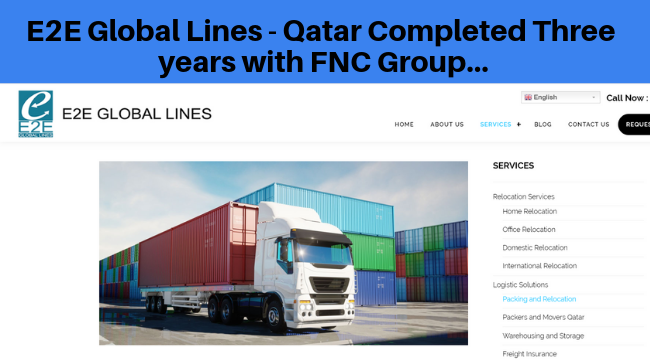 Congratulations, E2E Global Lines from Qatar completed 3 years with FNC Group