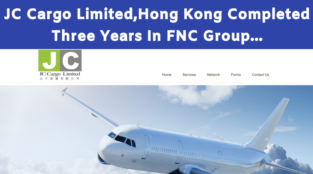 JC Cargo Limited Completed Three years with FNC Group…