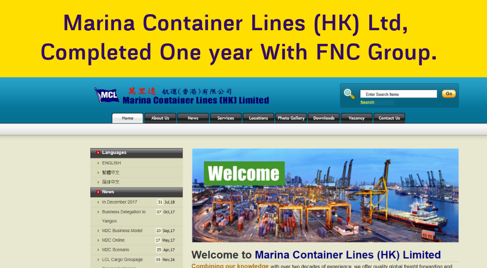 Marina Container Lines