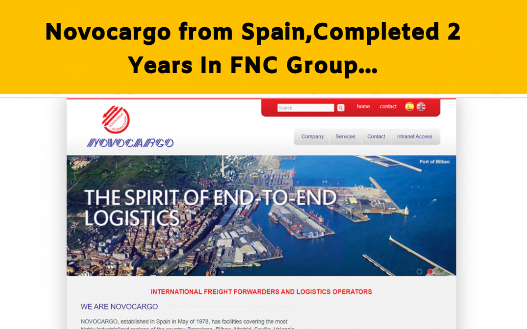 Novocargo Completed Two years in FNC Family…