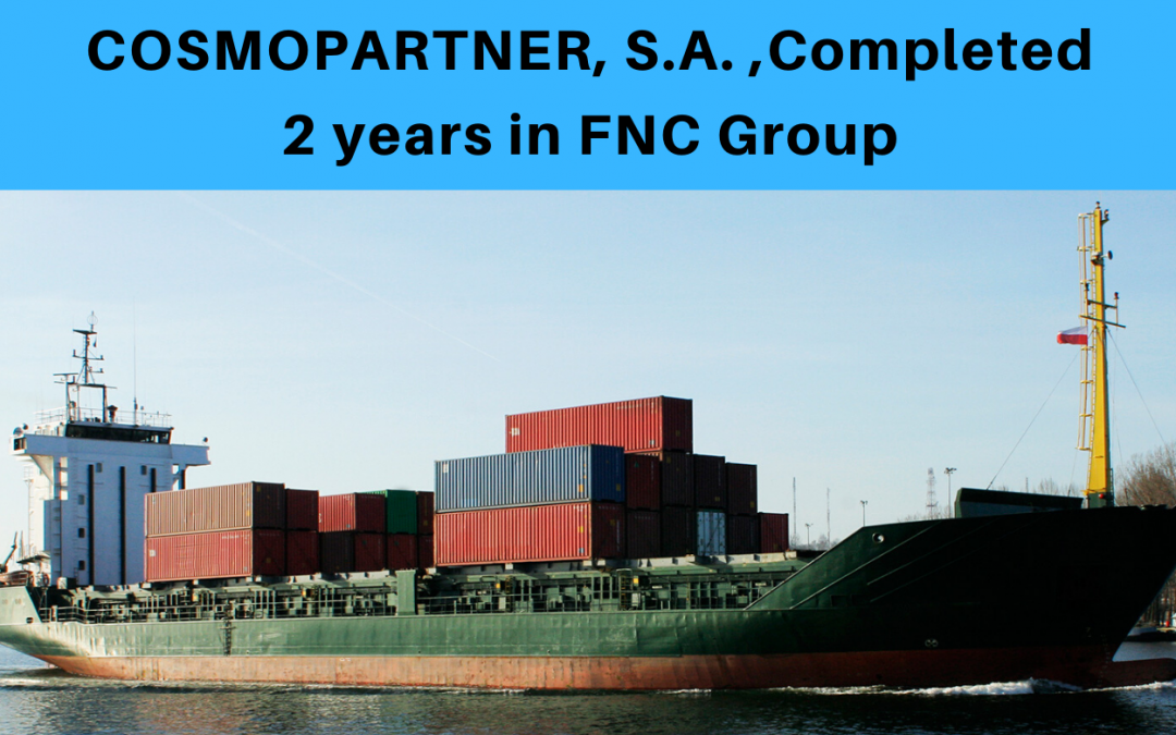 Cosmopartner, S.A. completed 2 years in FNC Group.