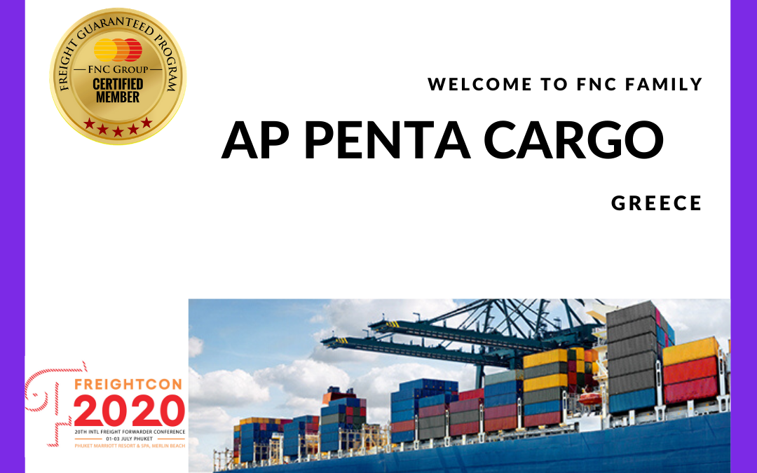 A.P Penta Cargo, Greece joined FNC Group Network.