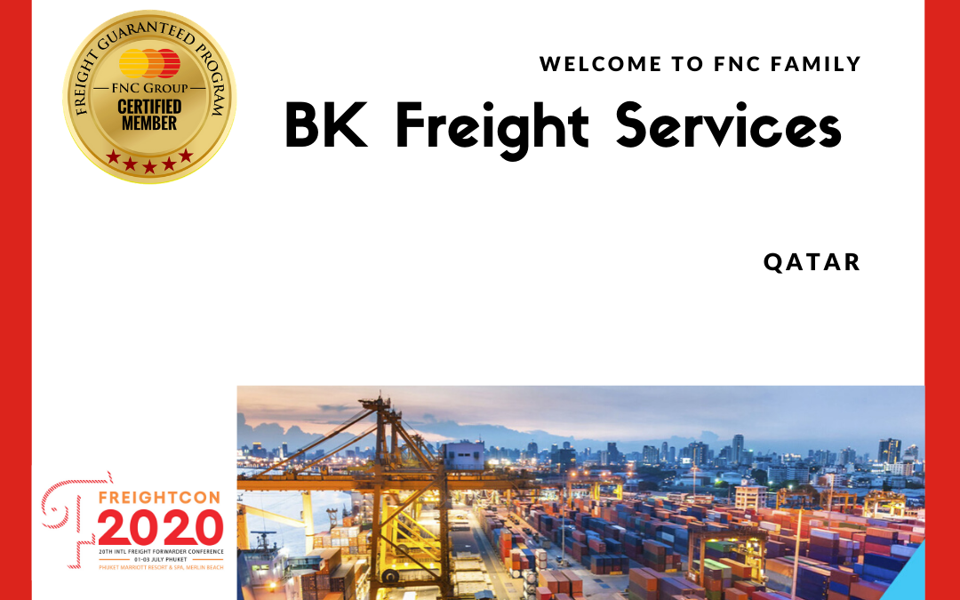 BK Freight Services, Qatar joined FNC Group Network.