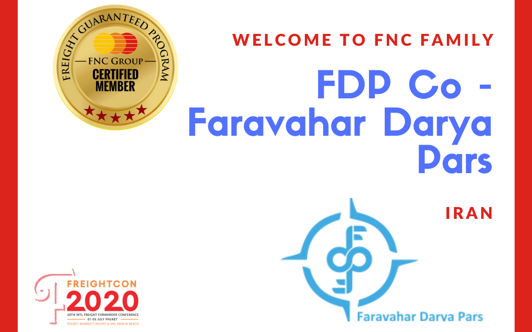 FDP Co – Faravahar Darya Pars, Iran joined FNC Group Network.