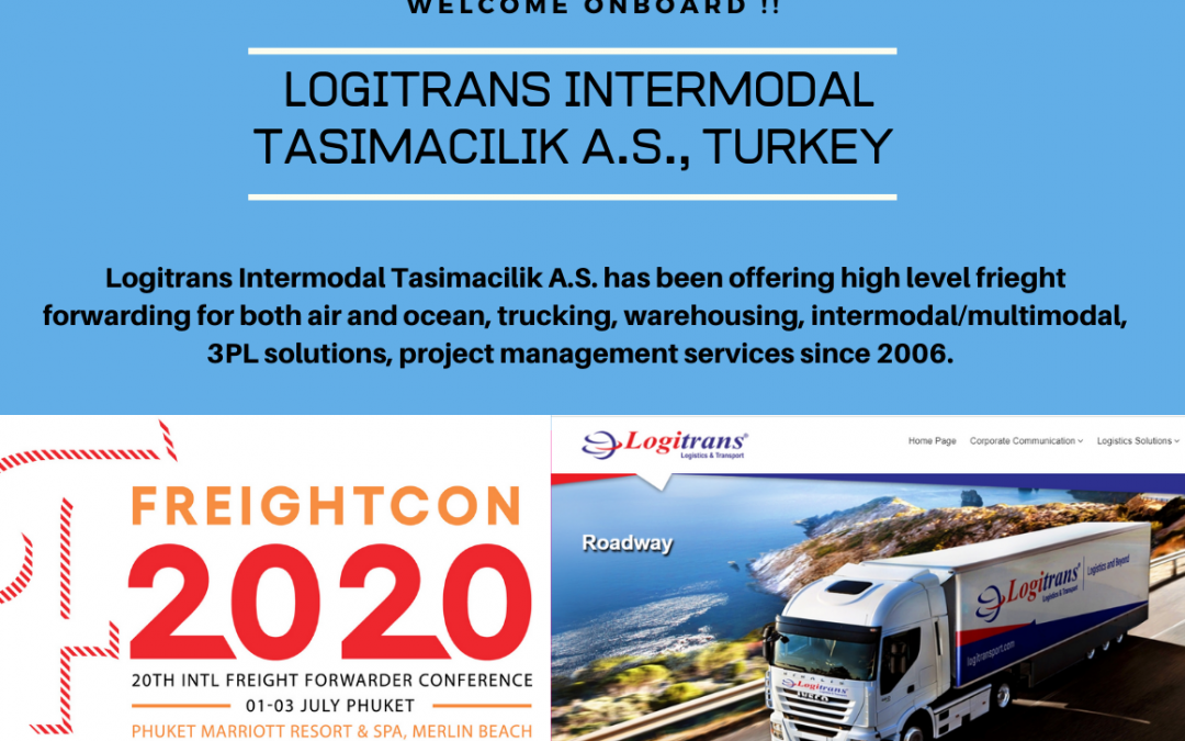 Logitrans Intermodal Tasimacilik A.S., Turkey joined FNC Group Network…