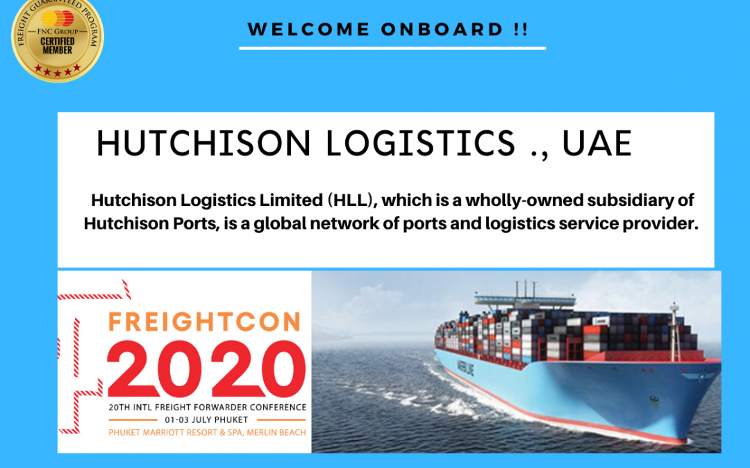 Welcome to FNC Group Network-Hutchison Logistics Limited (HLL), UAE.