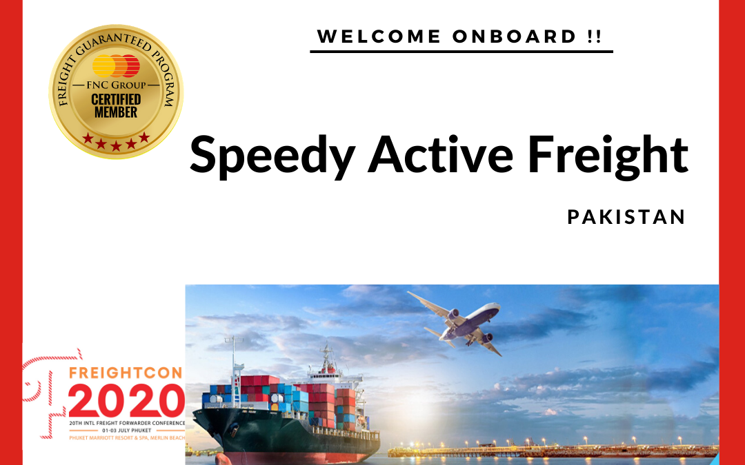 Welcome to FNC Group Network -Speedy Active Freight, Pakistan.