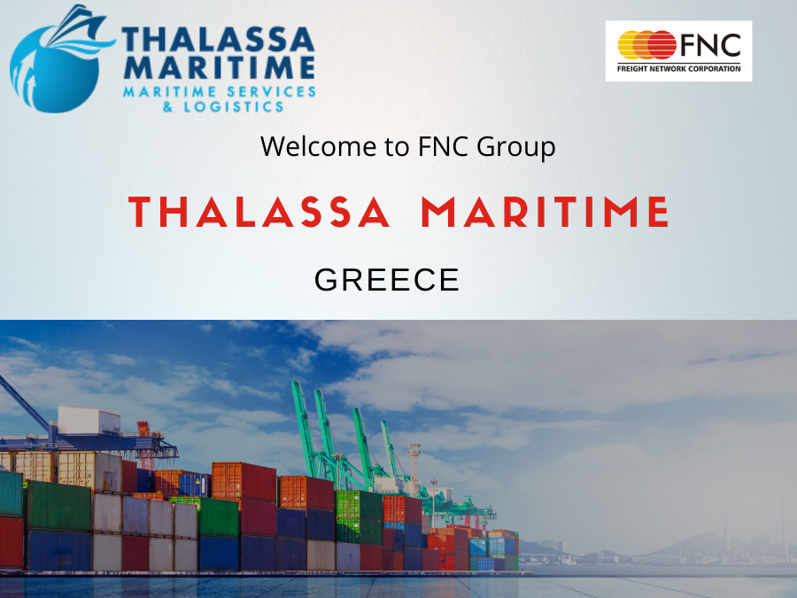 Welcome to FNC Family-  Thalassa Maritime, Greece.